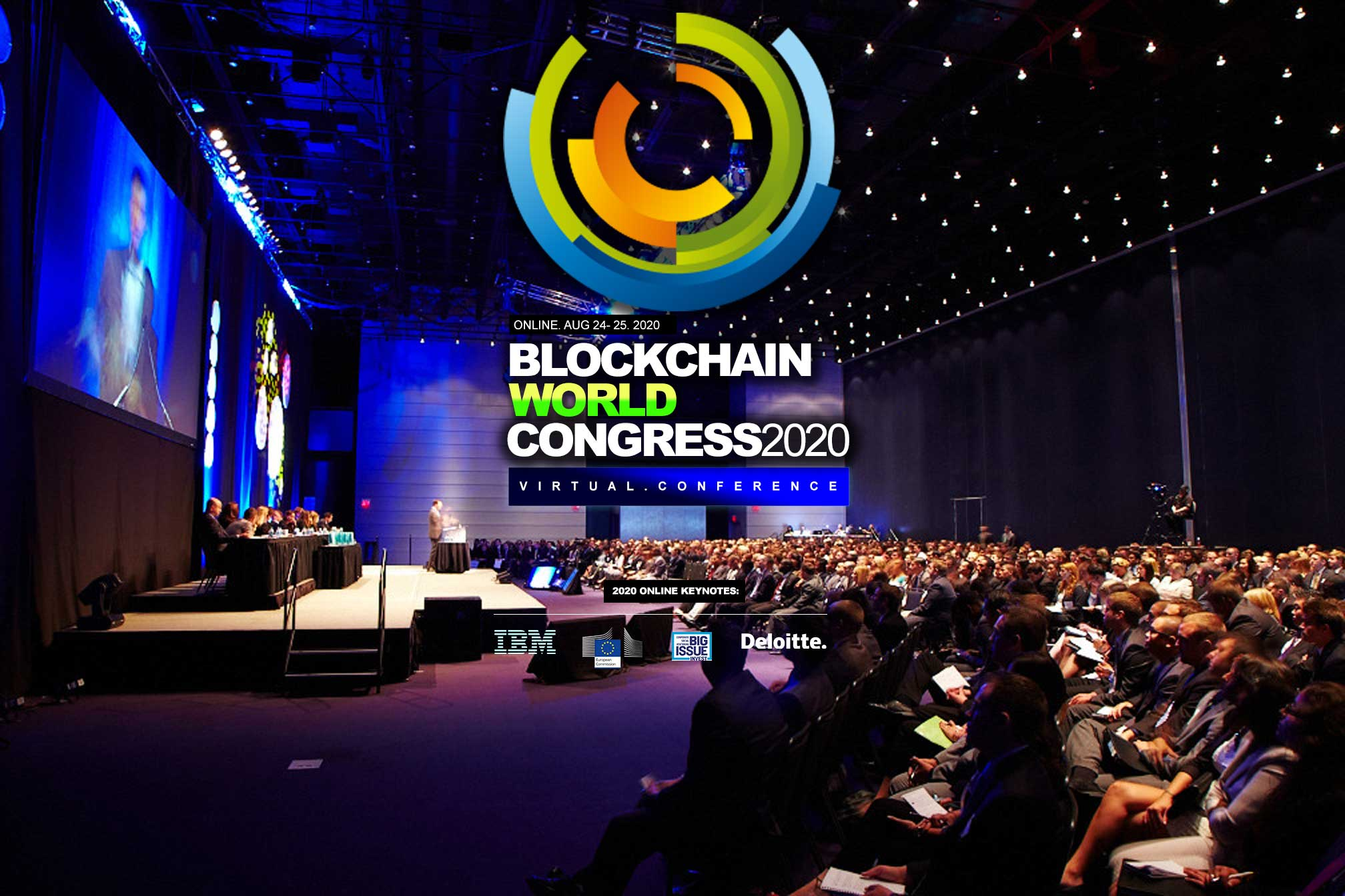 Blockchain Conference - Blockchain World Congress 2020. Virtual Blockchain Conference